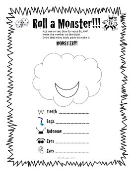 Roll-A-Monster