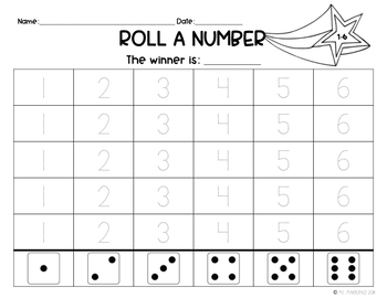 Roll A Number