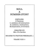 Roll A Number Story