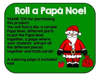 Roll A Santa Claus {Spanish}
