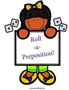 Roll-A-Preposition!