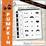 Roll A Pumpkin Halloween Game  - Fine Motor Activity, Hall