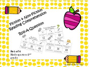 Roll-A-Question Reading Comprehension