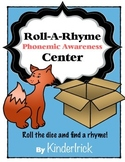 Roll A Rhyme Phonemic Awareness Center