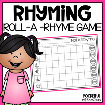 Roll A Rhyme - Rhyming Game