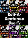 Roll-A-Sentence BUNDLE! Articulation Printables for Sentence Level Speech Tx
