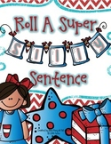 Roll A Sentence - Super Silly Themed