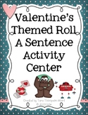 Roll A Sentence - Valentine Themed