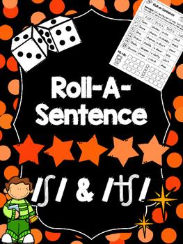 Roll-A-Sentence /sh/ & /ch/ - Articulation Printables for Sentence Lvl-Speech Tx