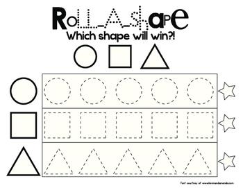 Roll A Shape!