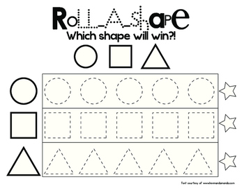 Roll A Shape!