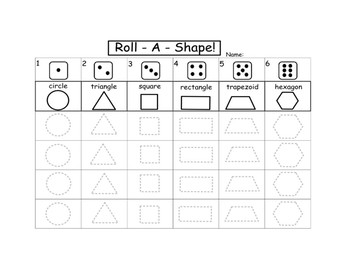Roll A Shape