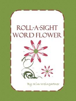 Roll-A-Sight Word Flower