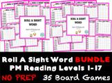 Roll A Sight Word- PM Benchmark Reading Levels 1 to 17 BUNDLE- BTSDOWNUNDER