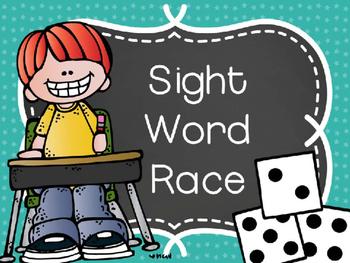 Roll A Sight Word Race