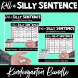 Roll A Silly Sentence: Decodable