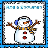 Roll A Snowman Addition Math Game