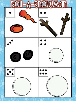 Roll-A-Snowman II Game