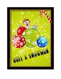 Roll-A-Snowman - Learning Center, Station, or individual activity