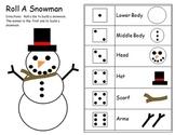Roll A Snowman Number Sense