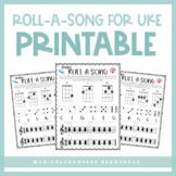 Roll-A-Song Ukulele | Printable