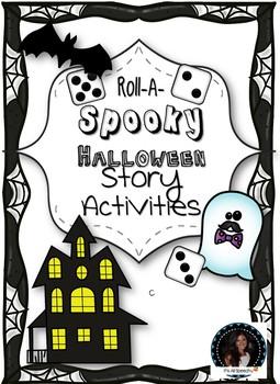 Roll A Spooky Halloween Story: Story elements, Descriptive language
