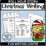 Roll A Story Christmas Writing Prompts