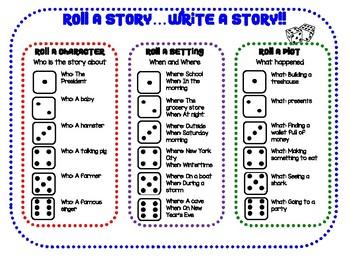 Roll A Story...Write A Story!