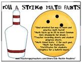 Roll A Strike Math Facts