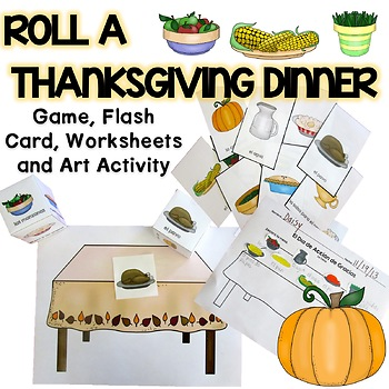 Roll A Thanksgiving Dinner {Spanish}