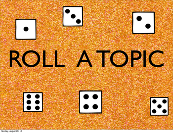 Roll A Topic