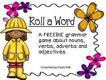 Roll A Word: Spring Reading Game