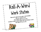 Roll-A-Word Work Station