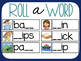 Roll A Word- digraph literacy center
