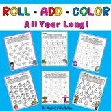 Roll - Add - Color!  All Year Long