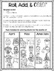 Roll, Add, & Color Printable Pack April - July