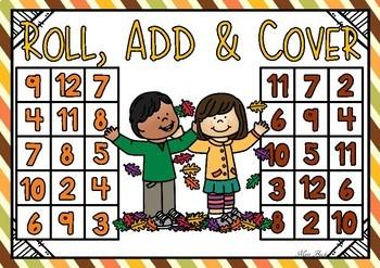 Roll, Add & Cover- Autumn Theme