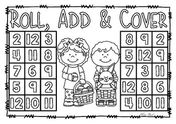 Roll, Add & Cover- Easter Theme