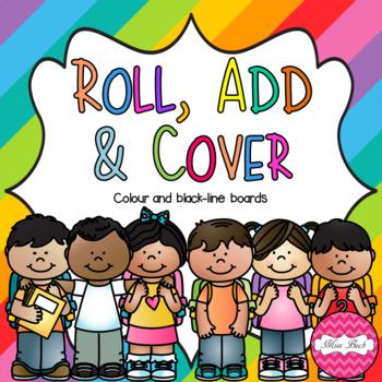 Roll, Add & Cover- School Theme