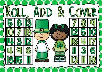 Roll, Add & Cover- St. Patrick's Theme