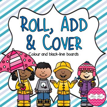 Roll, Add & Cover- Winter Theme