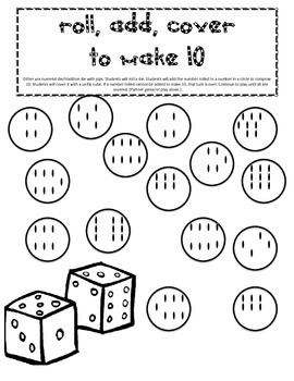 Roll, Add, & Cover to Make 10