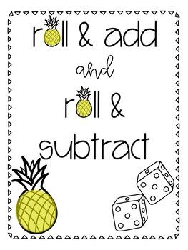 Roll & Add / Roll & Subtract