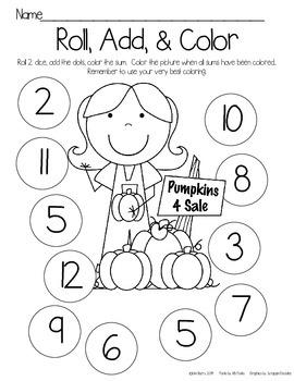 Roll, Add, and Color Bundle - Seasonal/Holiday - 16 Sets