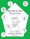 Roll, Add, and Color - St. Patrick's Day Edition