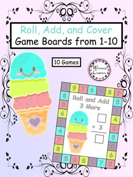 Roll, Add, and Cover (Distance Learning)