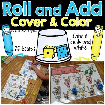 Roll, Add, and Cover/Color for the Whole Year!