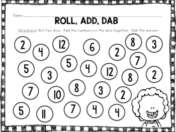 Roll, Add, and Dab!