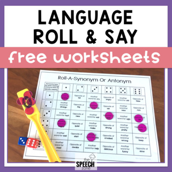 Free Roll-An-Action Sentence