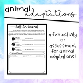 Roll An Animal! (Animal Adaptations Activity)